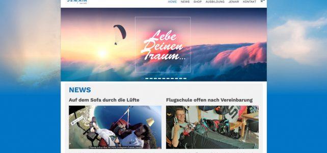 Neue, frische Website